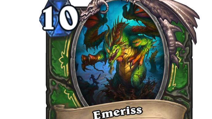 Here's a big new Legendary card from Hearthstone's next expansion TheWitchwood