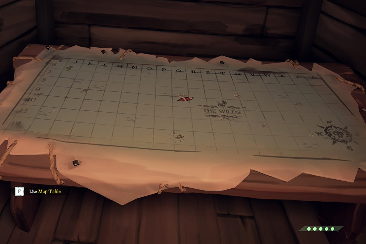 Sea of Thieves map - Island locations, names, shapes and how to find