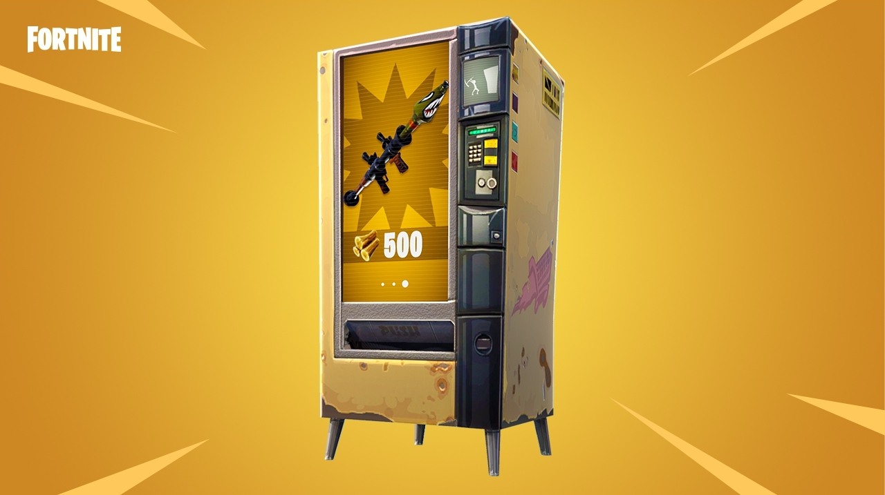 fortnite vending machine locations explained and how they work eurogamer net - fortnite mechanical parts farming