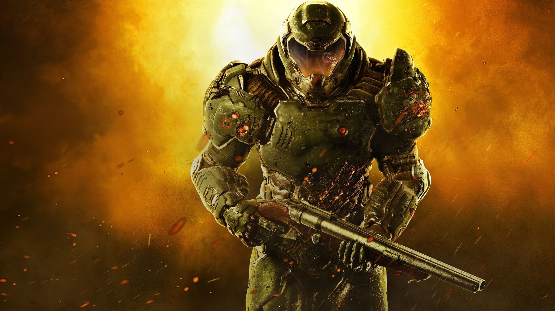 Doom's new 4K patch analysed on Xbox One X and PS4 Pro • Eurogamer net