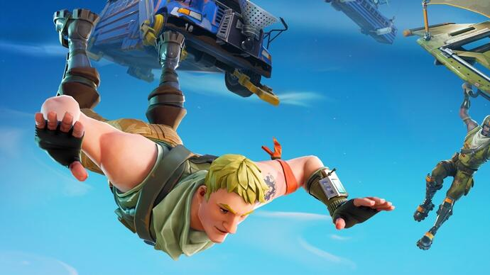 Fortnite's latest update adds instant forts and a Replay system, breaks Guided Missiles