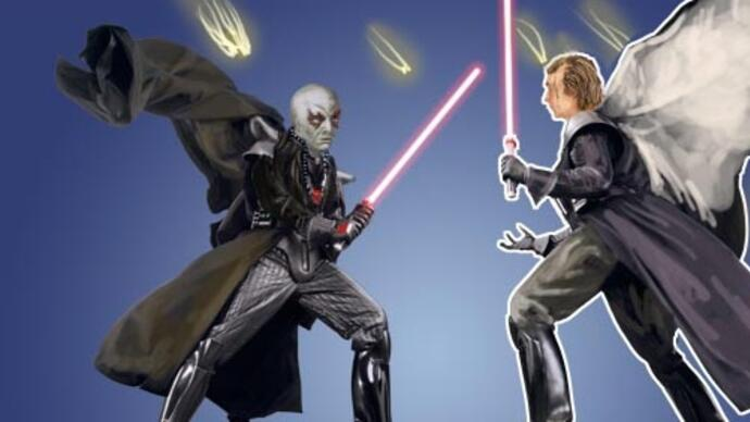 Cancelled Star Wars Battlefront 4 flipped Return of the Jedi's final lightsaber battle