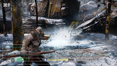 In general, God of War maintains its target 30 frames per second when using the higher resolution checkerboard 4K mode.