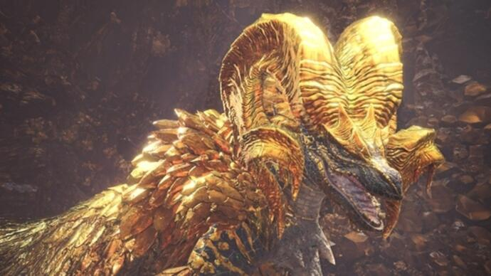 Monster Hunter World's next update introduces Elder Dragon Kulve Taroth