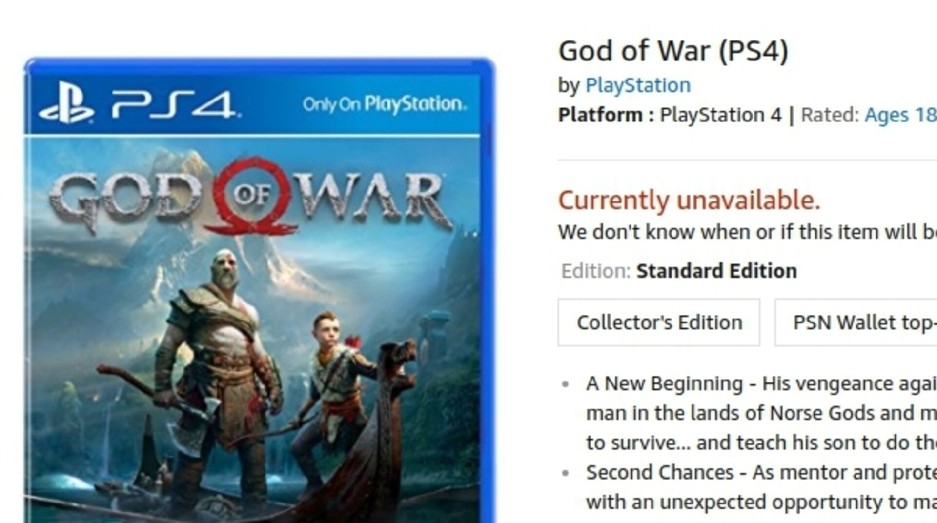 Upcoming PS4 exclusives God of War, Detroit and Spider-Man
