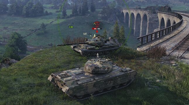 World of Tanks as it looks now