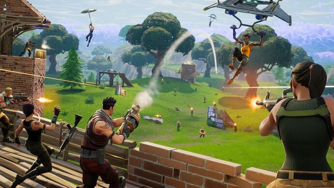 Fortnite v3.6 Content update introduceert de Clinger en de Noble Launcher