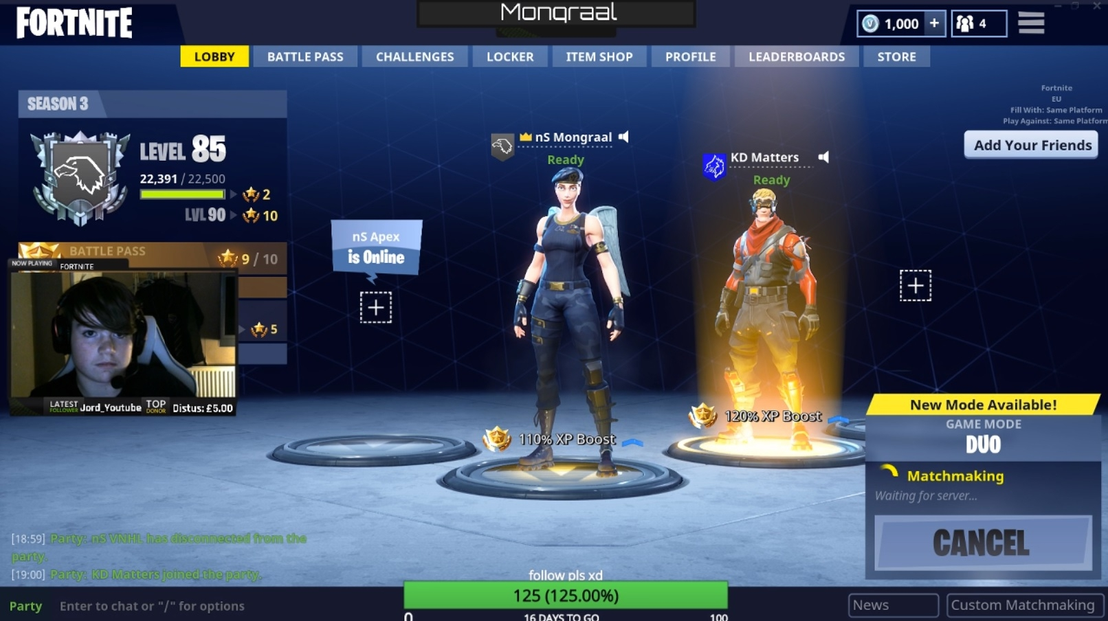 meet the 13 year old londoner who just became a fortnite pro - configuration minimale fortnite battle royale