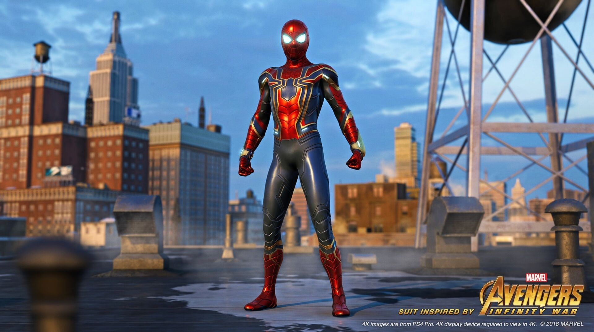 Spider-Man PS4 gets the cool Iron Spider suit from Avengers