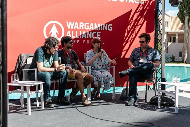 From left to right: Rami Ismail, Broken Rules Felix Bohatsch, and Robin Hunicke