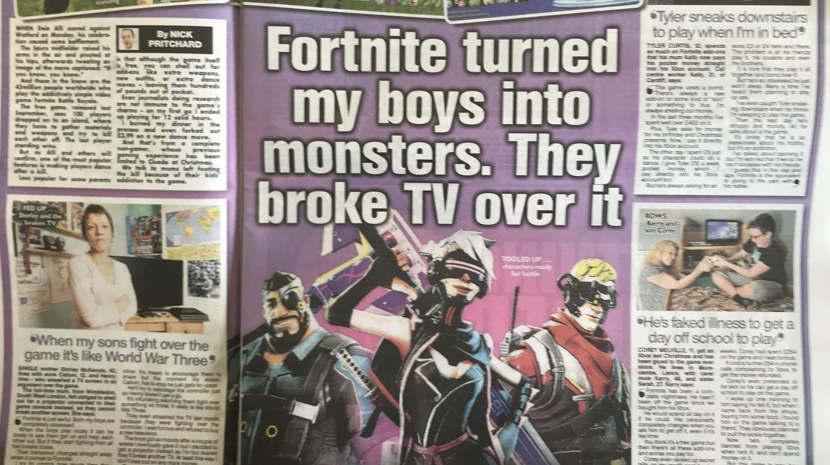 The Mainstream Media S Inevitable Attack On Addictive Fortnite Has