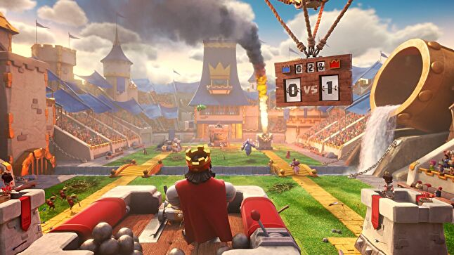 There was a two year gap between Boom Beach and Clash Royale, with numerous ideas cancelled along the way