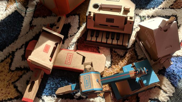 Nintendo Labo review - an ingenious and generous cardboardtriumph