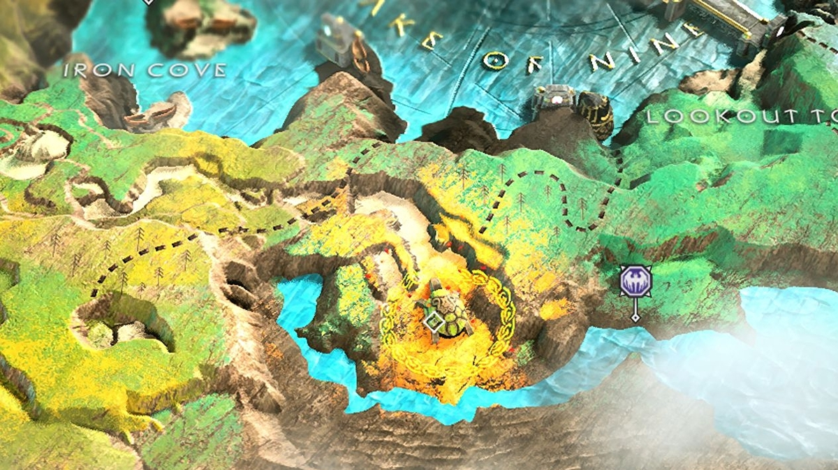 God of War Treasure Map locations - Where to find Don\'t Blink, Kneel ...