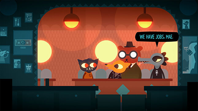 In Night in the Woods, the characters' lives are shaped in no small part by their employment.