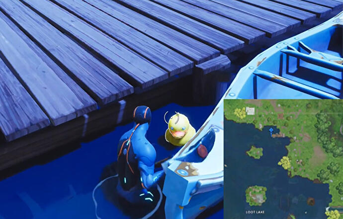 Fortnite_Gummiente_1_bei_Loot_Lake