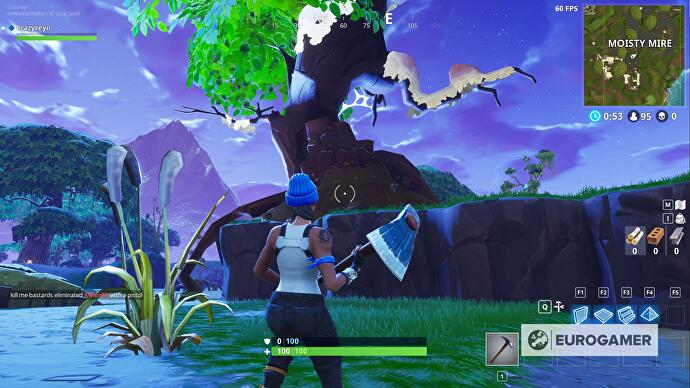 Fortnite Bench Ice Cream Truck And A Helicopter