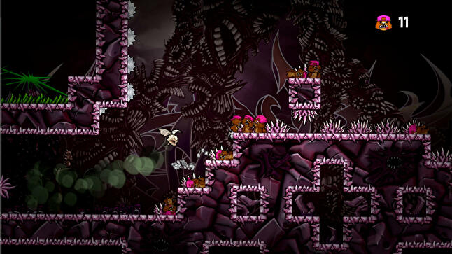 Indie title Super Rude Bear Resurrection is tough to begin with, but the ability to use previous corpses as platforms makes it easier as players progress
