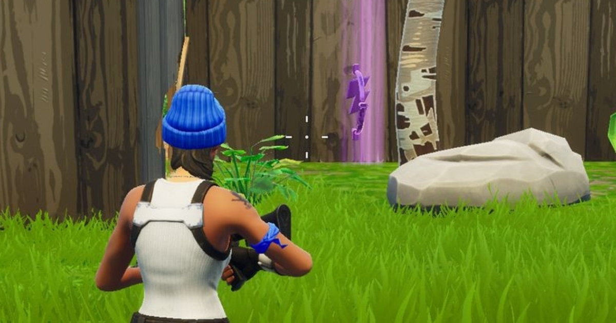 how to visit the centre of 3 circles fortnite