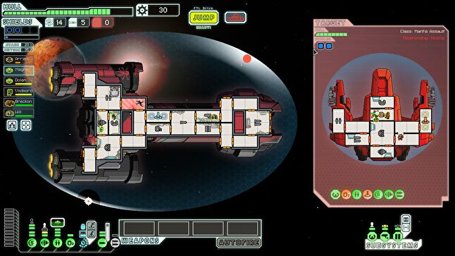 FTL looks nothing like Into the Breach, but reflects some of its design sensibilities