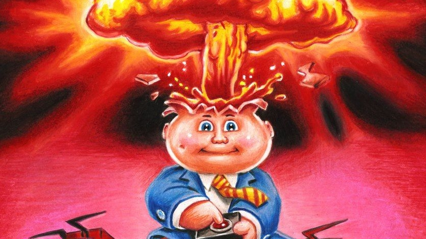 760a51e9689 Notorious 80s trading card series Garbage Pail Kids is being turned into a  game • Eurogamer.net
