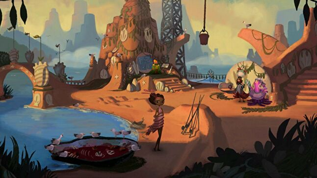 The Kickstarter for Broken Age (then 'Double Fine Adventure') sparked a wave of crowdfunding campaigns, and Schafer found himself inundated with requests for advice