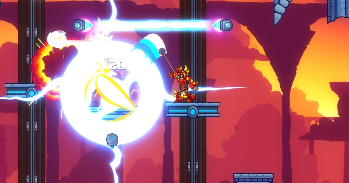 Mega Man X-inspired procedural rogue-like 20XX comes to consoles in July
