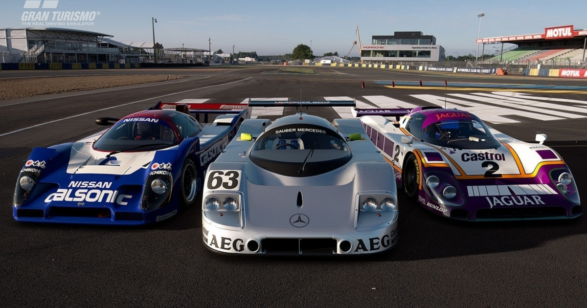 Le Mans comes to Gran Turismo Sport this week