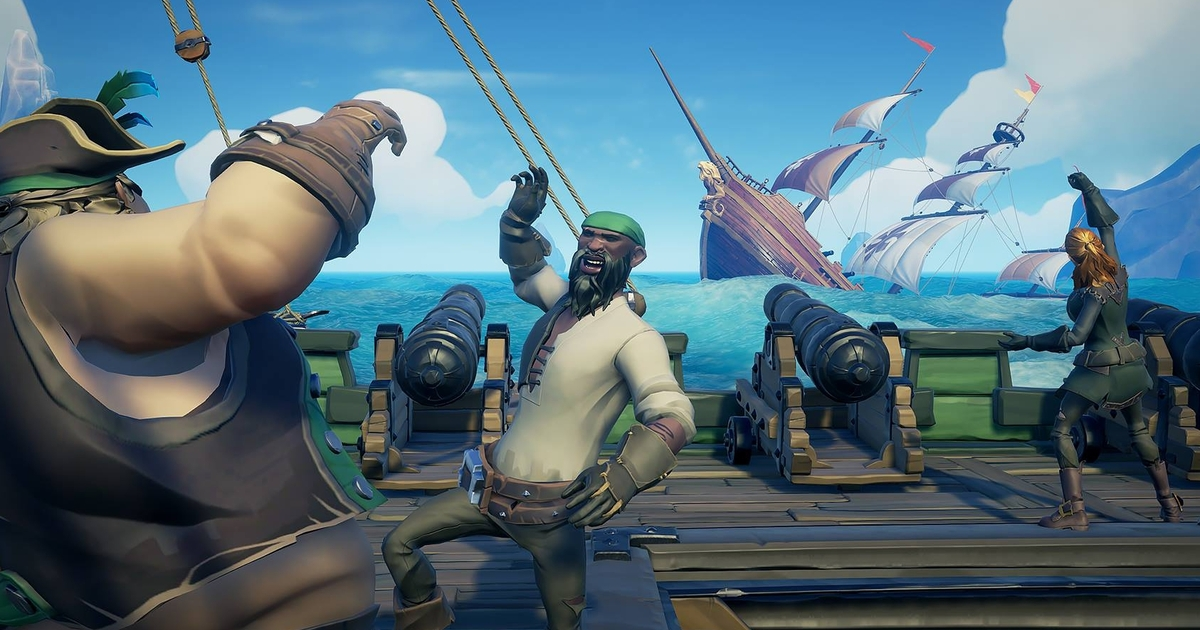Sea of Thieves' first big content update, The Hungering Deep, is here