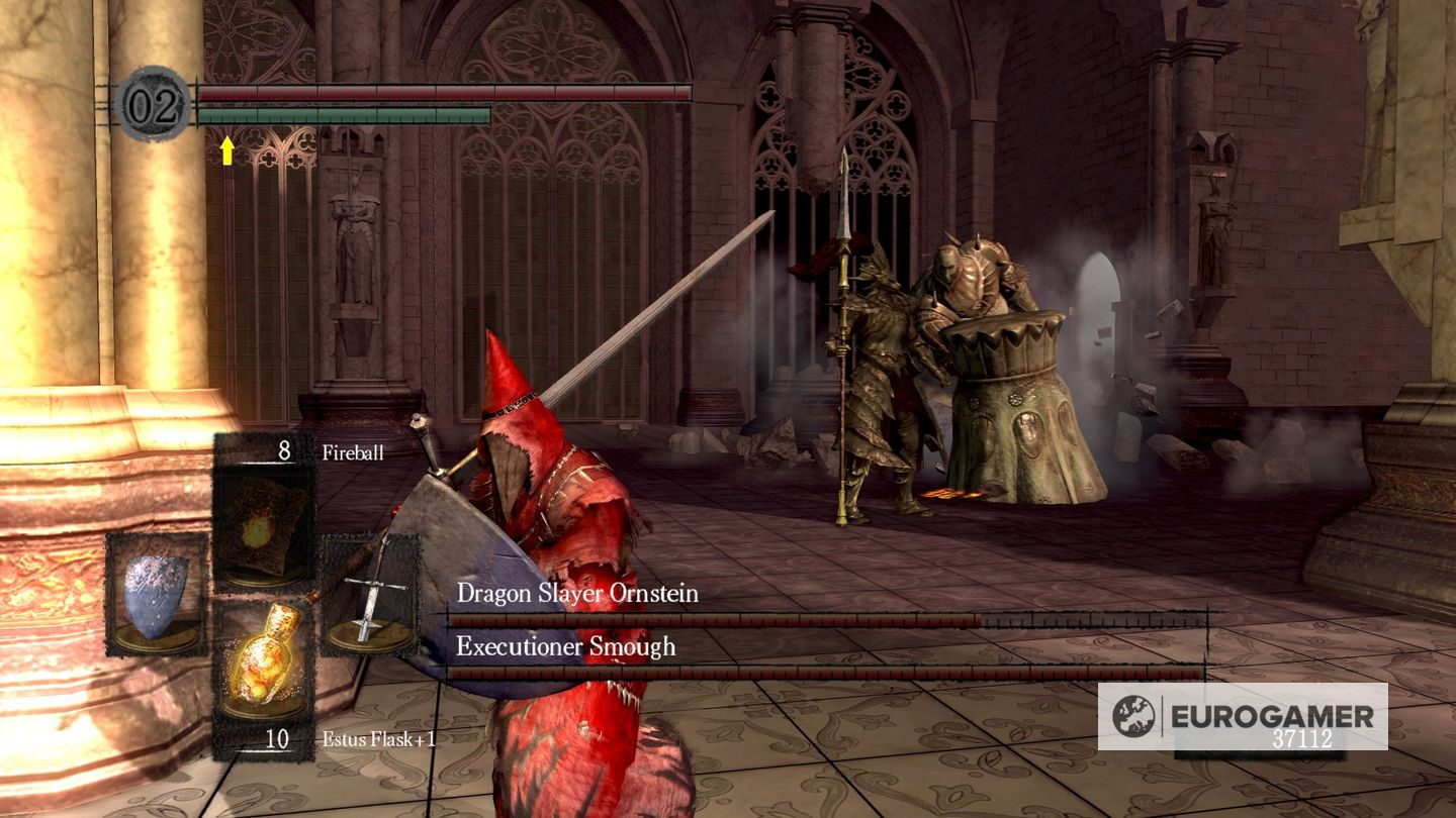 how to kill sentries outside ornstein and smough