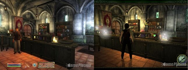 GamePlasma screens of Limbo of the Lost and Oblivion. That's Oblivion on the left. (And if we're being honest, on the right, too.)