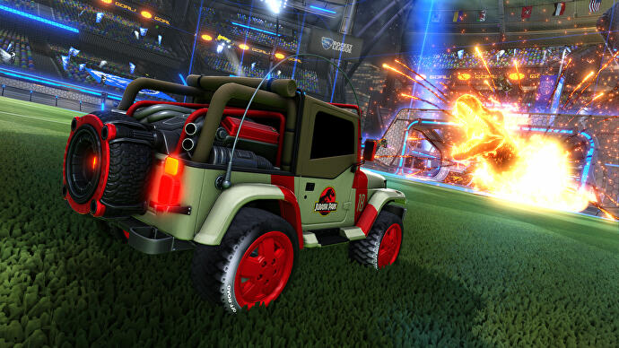 Buy A Rocket League Car Topper