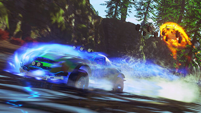 Onrush is the first project by the Evolution team after its studio closed two years ago, and it's designed as a long-tail title
