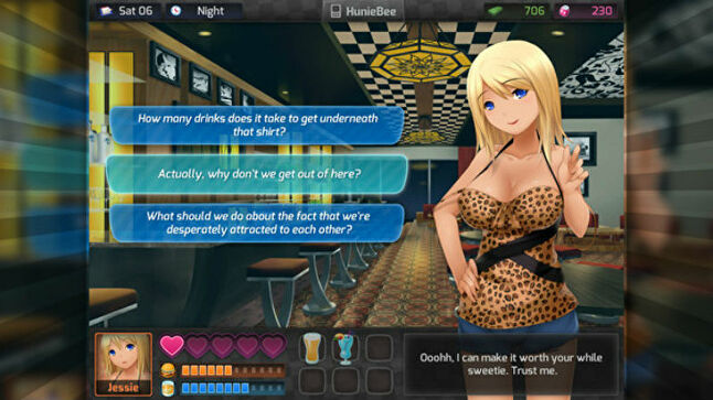 HuniePop was one of the games initially targeted for removal, and later re-review