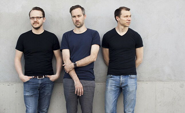 From left to right: creative director Erik Odeldahl, CEO Oskar Burman and CTO Kristoffer Benjaminsson