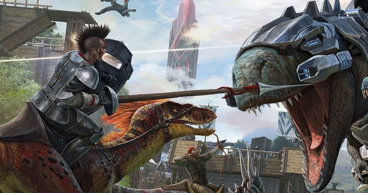 Ark: Survival Evolved is heading to mobile next week