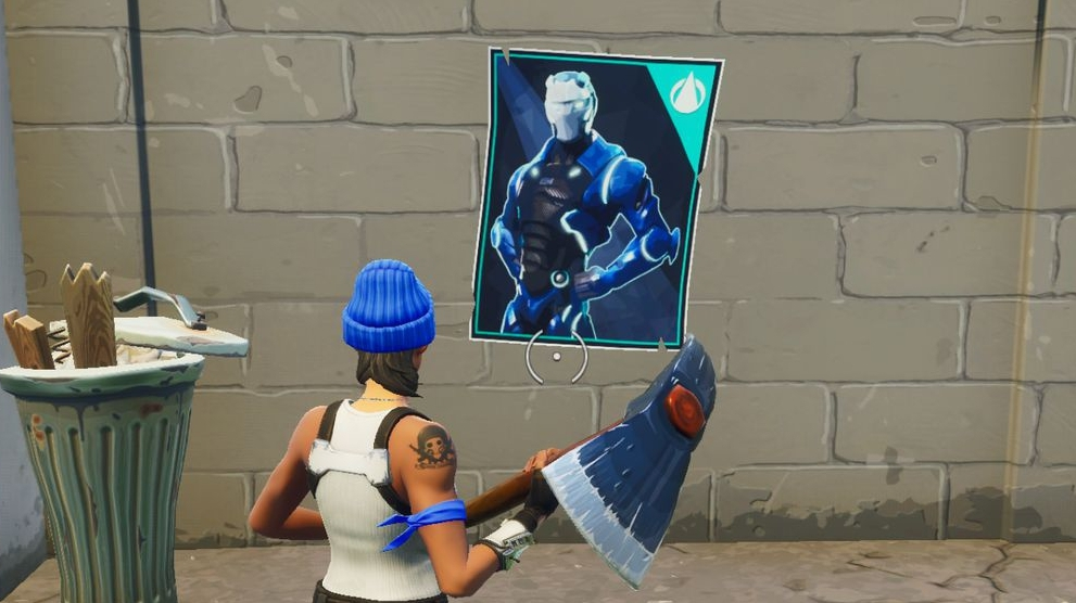 Fortnite Poster Locations Where To Spray Over Different Carbide Or