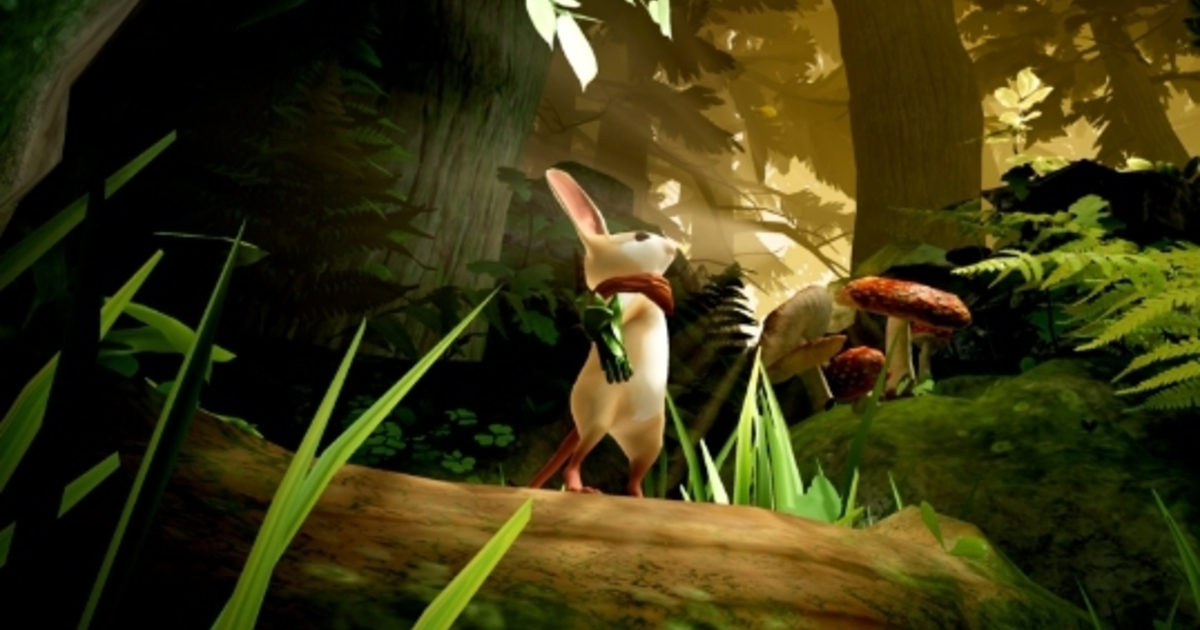 Delightful virtual reality mouse adventure Moss is now available on PC