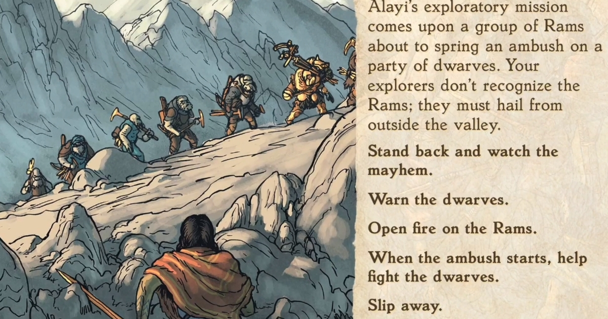 19 years later, storybook strategy King of Dragon Pass is getting a sequel