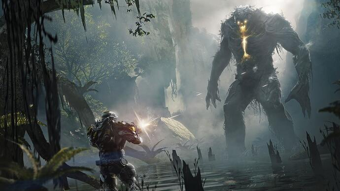 On Twitter, BioWare better details Anthem's blend of storytelling and multiplayer