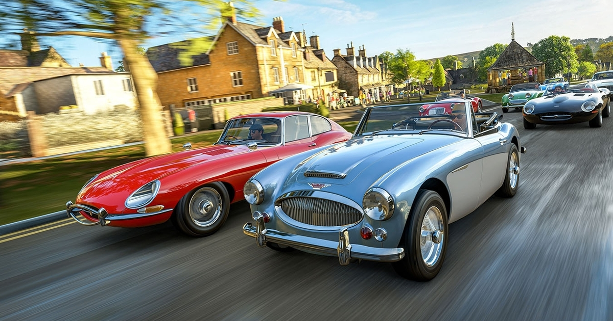 forza horizon 4 is set in the uk fully online and out in october. Black Bedroom Furniture Sets. Home Design Ideas