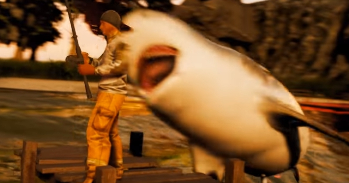 E3 is over, there's an open-world shark RPG
