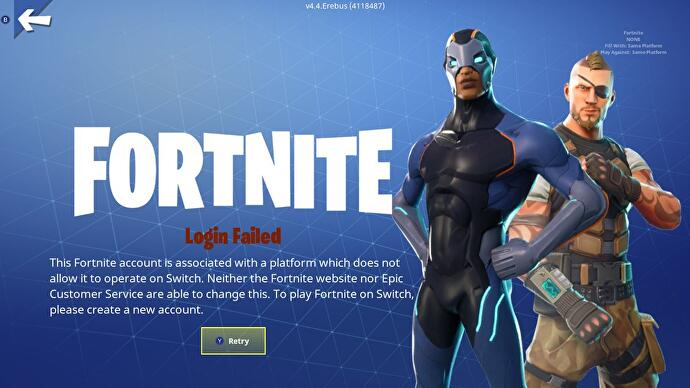 how to change fortnite ps4 linked accounts