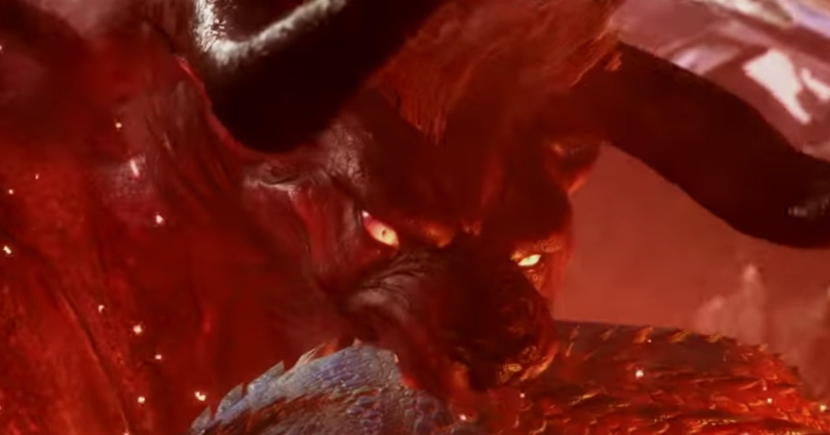 Final Fantasy's Behemoth is coming to Monster Hunter World