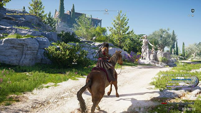 Assassin's Creed Odyssey will have a large open world, much like Origins, giving Ubisoft plenty of scope to add new content that draws players back every week