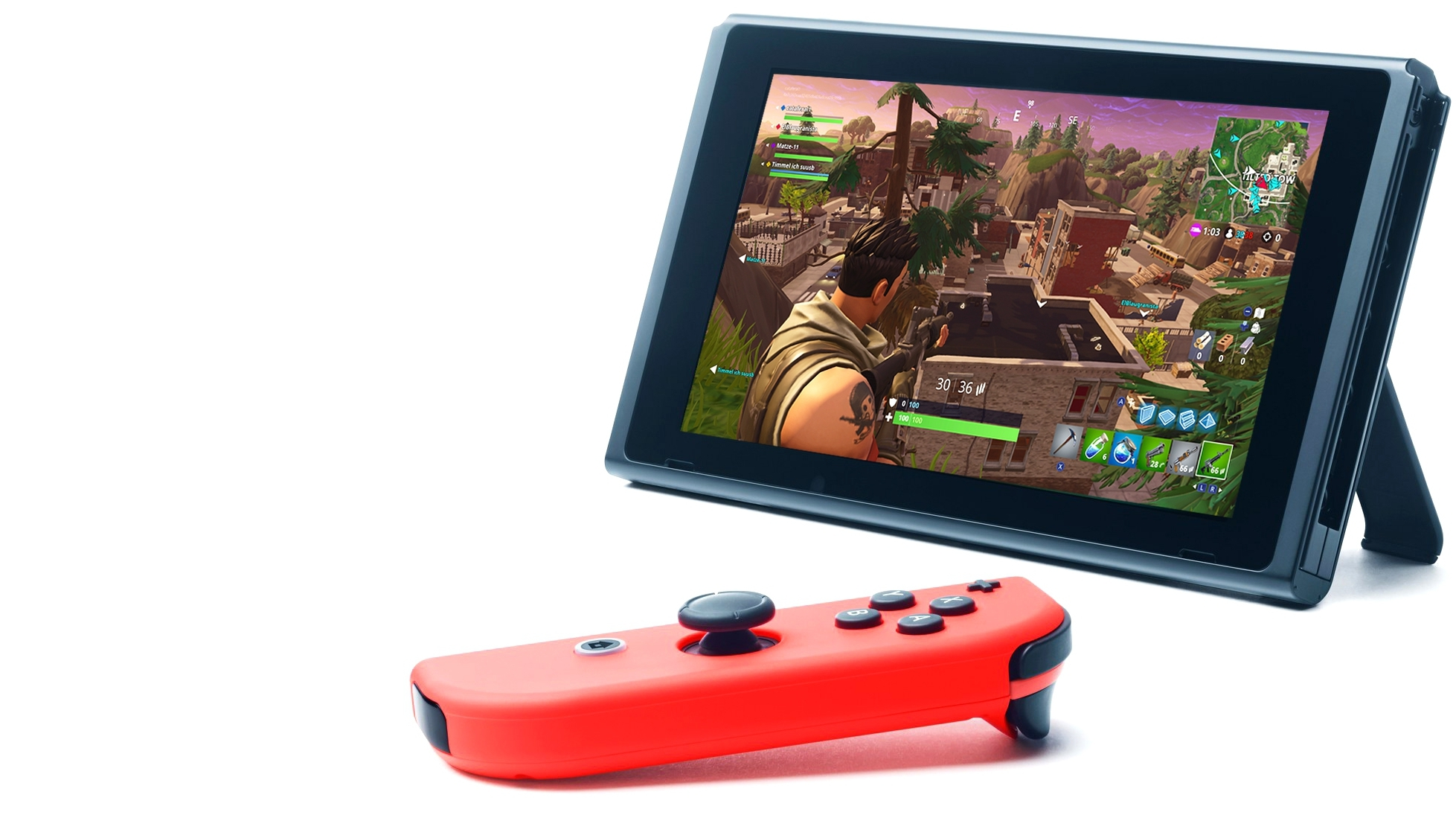 fortnite s switch port is impressive but frame rate could be better eurogamer net - fortnite on psp