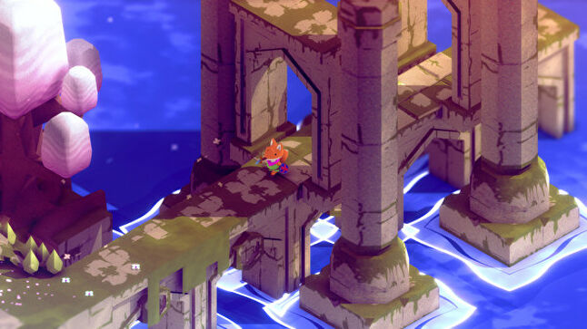 Top down action adventure Tunic evokes all the goodness of Zelda while maintaining its individuality