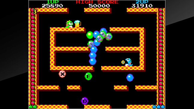 A shot from the 2016 Arcade Archives release of the game on the PlayStation 4