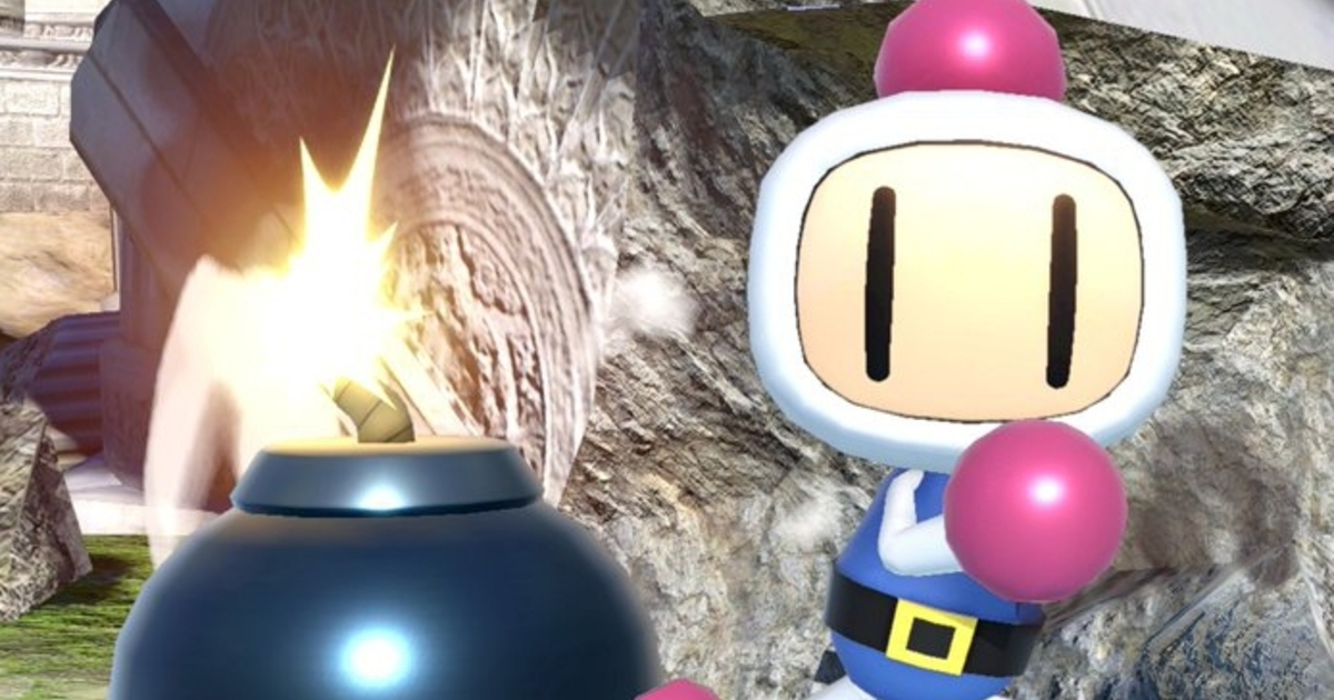 Here's how Bomberman looks in Super Smash Bros. Ultimate