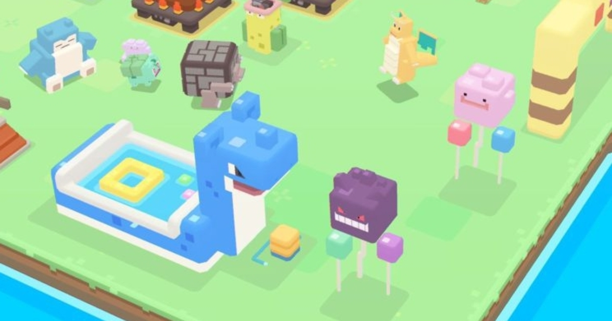 Free-to-play Pokémon Quest lines up mobile launch date